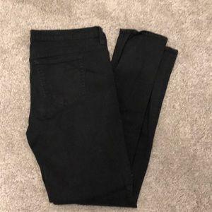 J Crew Reid Jeans Black size 32